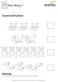count and colour worksheet mocomi for kids mocomi
