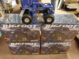 bigfoot monster truck logo r c trucks crawlers and cars express hobbies inc