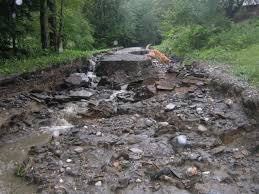 Banister Road Storm Damage Photos News West Windsor Vermont