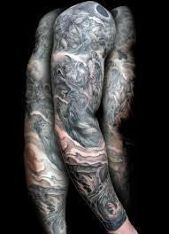 grey ink sleeve