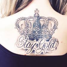 80 noble crown tattoo designs u2013 treat yourself like royalty