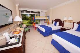Caribbean  Latin Travel Consultant Ltd  Sunset Beach Hotel - Riu montego bay family room