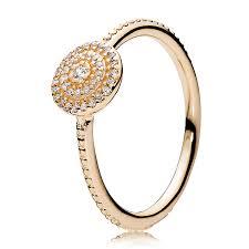 pandora rose radiant elegance clear cz ring pancharmbracelets com