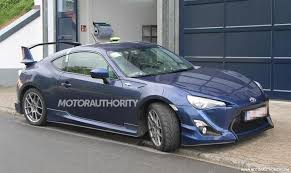 modified toyota gt86 toyota gt 86 aero kit spotted in europe is the u s next