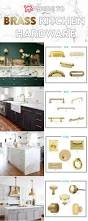 Knobs On Kitchen Cabinets Best 25 Brass Hardware Ideas On Pinterest Kitchen Hardware