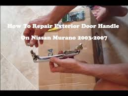 Replace Exterior Door Handle Top 20 Replace Exterior Door Handle Nissan Altima 2003 Nissan