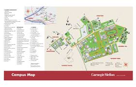 University Of Akron Map Carnegie Mellon Campus Map 5000 Forbes Avenue Pittsburgh Pa