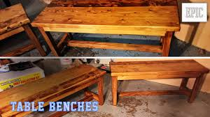 my next project bench for the kitchen table youtube
