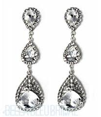 bridal chandelier earrings haute teardrop chandelier earrings bridal earrings