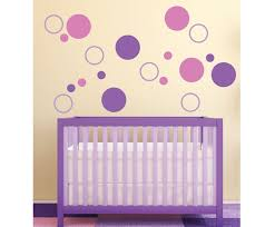 Purple Nursery Wall Decor Decorations Breathtaking Nursery Room Design With Purple