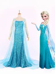 blue frozen elsa blue sequins frozen elsa princess elsa prom