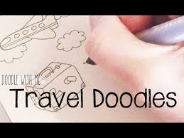 doodle with travel doodles doodle with me
