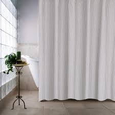 Shower Curtain Ticking Stripe Shower Curtain