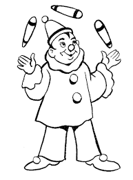 coloring page clown coloring pages 29 clip art library