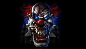 scary halloween wallpapers hd scary clown hd wallpaper