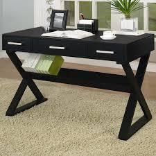 Black Desk Office Desks Credenzas S Furniture Depot