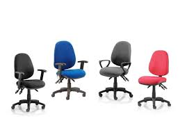 Office Chair Free Delivery Luna Task Operator Office Chair From Rapid Office Furniture
