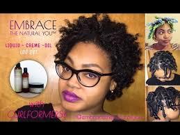 detroit short hair curlformers on short natural hair youtube