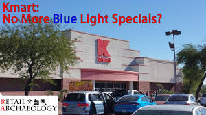 kmart no more blue light specials store closing november 2017