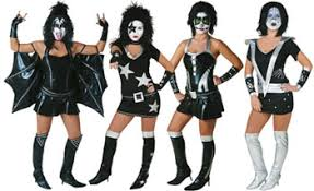 Halloween Band Costumes Everythingkiss Biggest U0026 Guide Collecting Kiss