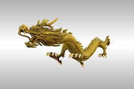 chinese gold dragon 3d asset cgtrader