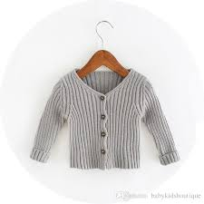 silver cardigan sweater baby sweater button cardigan tassels v neck 2016