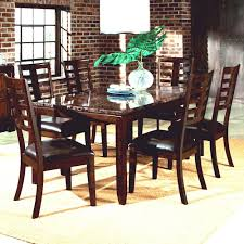 Patio Furniture Corpus Christi 7 Piece Dining Set With Faux Marble Top Bella By Standard