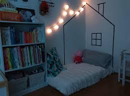 montessori illuminated night light washi tape house toddler