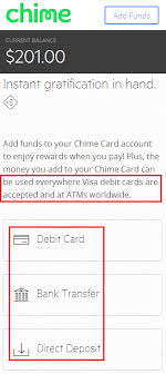 direct deposit card chime card prepaid reloadable debit card instant back card