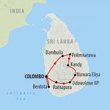 Map Of Sri Lanka A Guide To Sri Lanka U0027s Best Beaches On The Go Tours