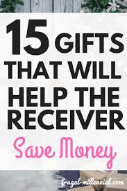 holiday gift guide for the frugal person in your life