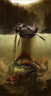 vatnagedda icelandic myth a giant pike monster that is extremely