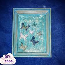 decoupage shabby chic photo frame with antique paste diy ideas