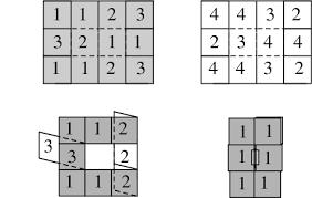 tetraflexagon from wolfram mathworld
