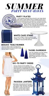 Host An End Of Summer Party Fashionable Hostess by Summer Party Must Haves Celebrate In Style All Season