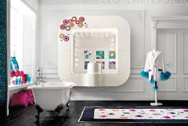 glamorous modern bedroom with white bath tub organizer claws foot