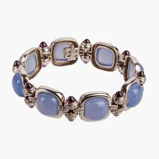 garnet bracelet images Blue chalcedony and garnet bracelet giancarlo jewelry jpg