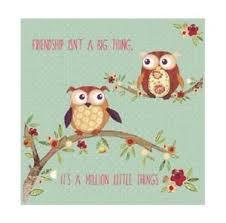 pdsa blank charity greetings card friendship owls 4068 ebay