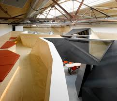 red bull headquarters interior by sid lee architecture