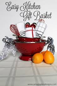kitchen gift basket ideas easy kitchen gift basket great idea for the realtors could