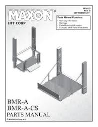 maxon gpt series liftgate by the liftgate parts co issuu