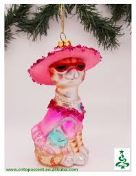 2014 pets blown glass garden ornaments wholesales from direct