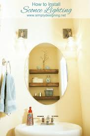 Wall Sconce Placement Cool 40 Placement Of Bathroom Wall Sconces Design Decoration Of