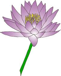 Purple Lily Flower Purple Lily Flower Clipart The Cliparts