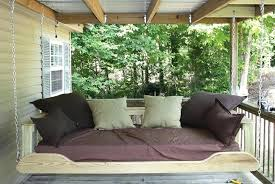 bed porch swing mattress cover twin sized plans diy outdoor