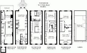 brooklyn brownstone floor plans meze blog brownstone house plans in bright side of floor