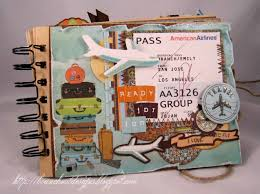 travel photo album travel album scrapbook mini albums travel