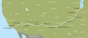Route 66 Map Motorradreise Route 66 Motorradtour Canusa