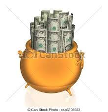 clipart money pot of money clipart 2091533