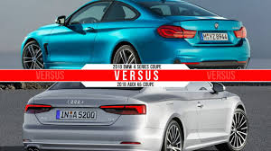 2018 bmw 4 series coupe vs 2018 audi a5 coupe youtube